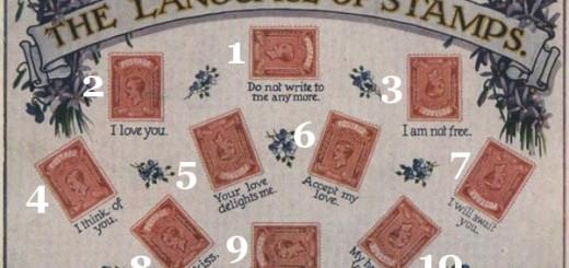 Pašto ženklų reikšmės