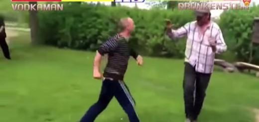 Vodkaman'e ir Drunkenstein'e kova