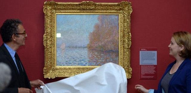 Paveikslas gražinamas į parodą