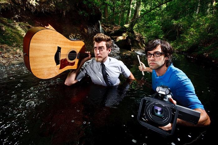 Rhett McLaughlin and Link Neal promotional shots