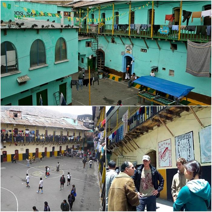 san pedro kalėjimas, kalėjimas bolivijoje