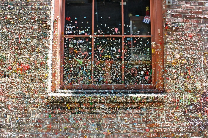Chewing Gum Wall