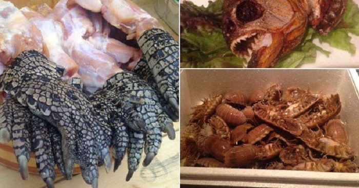 kepti tarakonai, kepti vabzdžiai, egzotiniai valgiai, egzotiniai patiekalai
