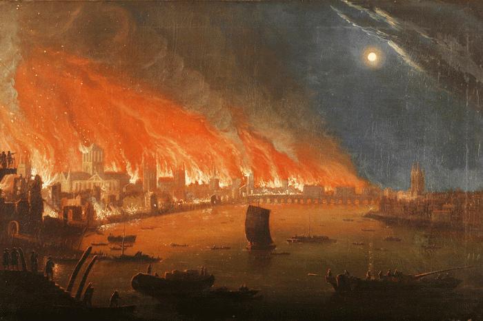 didysis londono gaisras