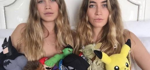 seksualios dvynės, dvynukės, merginų žaislai